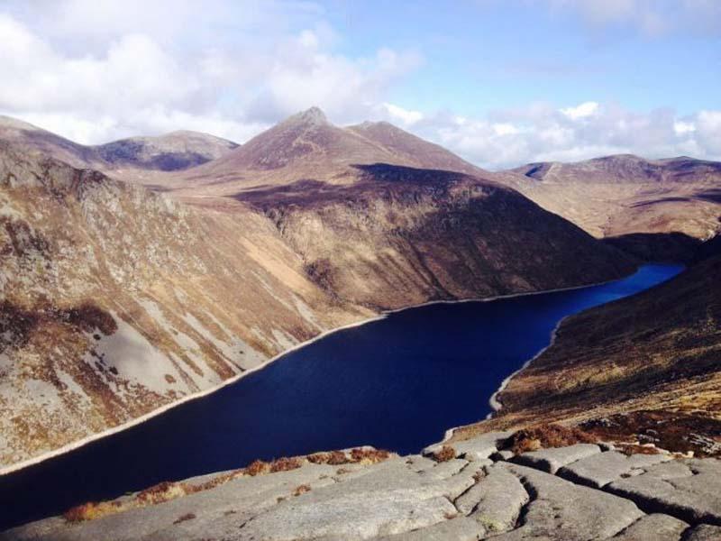 The-view-from-Slieve-Binnian-Silent-Valley-Reservoir